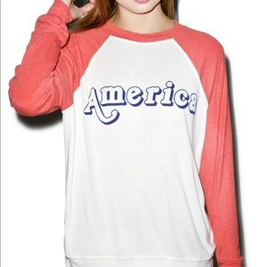 NWOT Wildfox America Sweatshirt